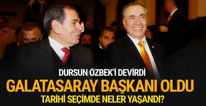 Galatasaray yeni başkanını seçti!