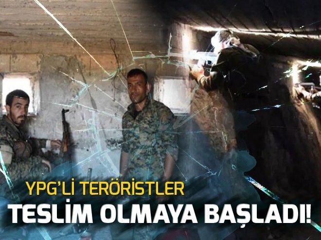 YPG'liler teslim olmaya başladı!.