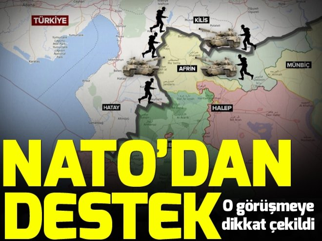 NATO'dan Türkiye'ye destek mesajı