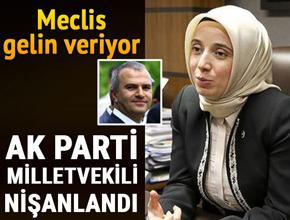 AK Parti milletvekili nişanlandı