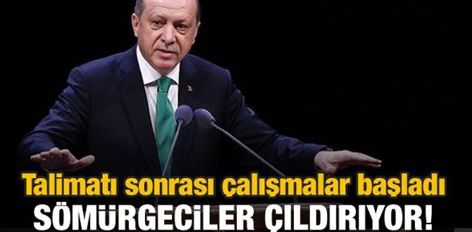 Erdoğan talimat vermişti! Sömürgeciler çıldırıyor