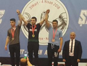 Ali Kara Türkiye Şampiyonu