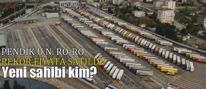 Pendik U.N. Ro-Ro limanı satıldı