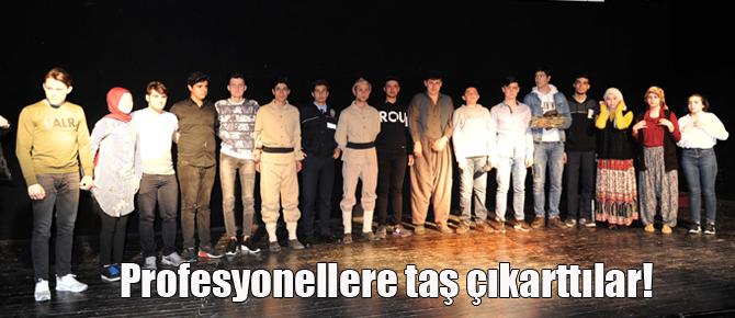 Tuzla'da liseler arası geleneksel tiyatro festivali!