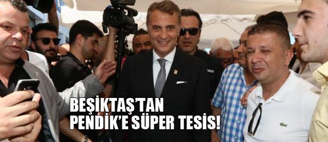 Beşiktaş'tan Pendik'e süper tesis!