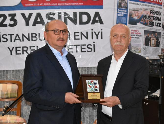 Sanayici Mehmet Mutlu'ya başarı plaketi