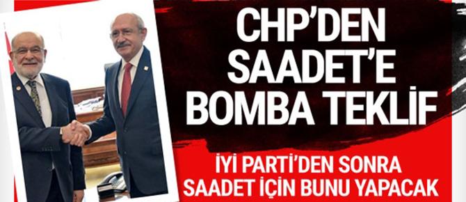 CHP'den Saadet'e bomba teklif! İYİ Parti'den sonra...