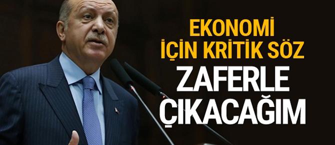 """Cumhurbaşkanı Erdoğan, """"Zaferle çıkacağım"""""""