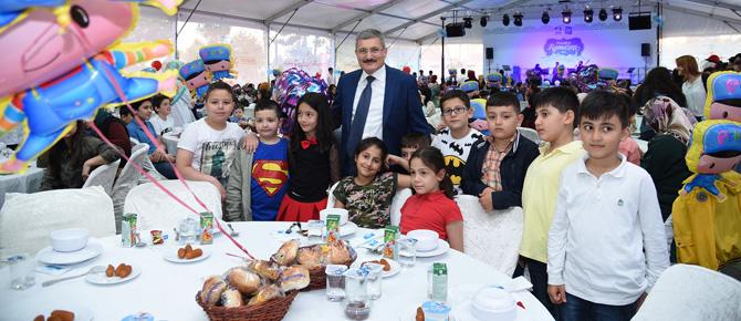Pendik Belediyesi'nden 420 Bin kişiye iftar