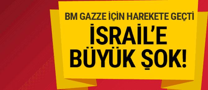 İsrail'e büyük şok: Kabul etti! Gazze için...