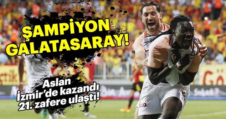 ŞAMPİYON GALATASARAY!
