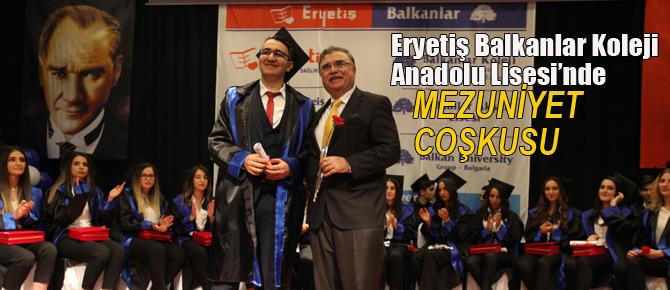 Balkanlar Koleji Anadolu Lisesinin Mezuniyet Gururu…