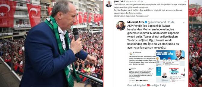 Pendik AK Parti'den algı oyunuyla ilgili sert açıklama