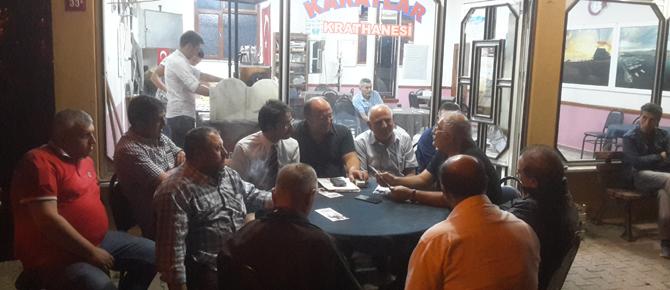 Vatan Partisi Göçbeyli ve Ballıca'da seçmenle buluştu