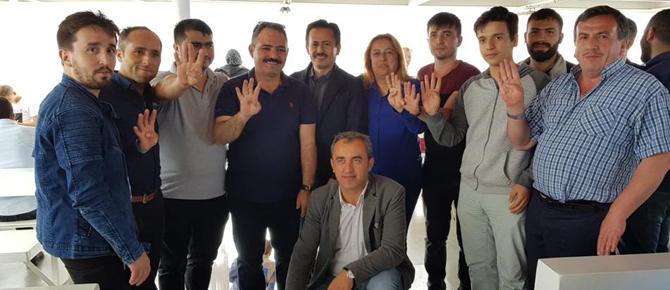 Onbinler Tuzla'dan Yenikapı'ya koştu
