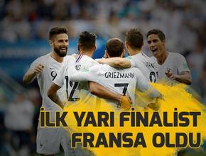 Uruguay-Fransa maç sonucu!