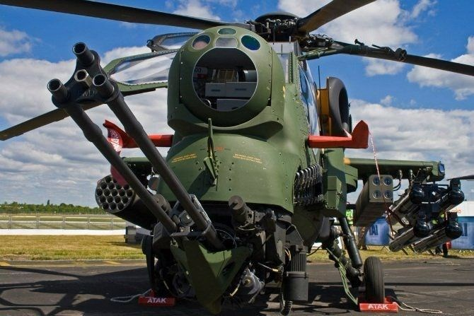 Türkiye'nin silahları, Türkiye'nin silah gücü, atak helikopteri