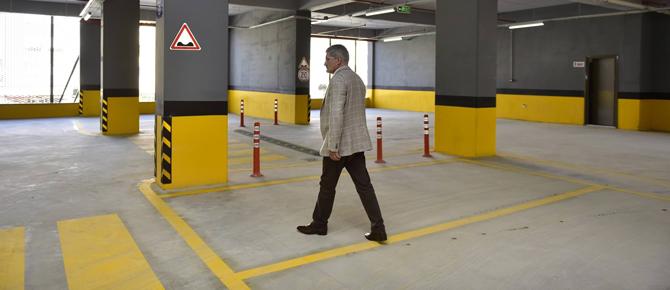 Mostar Otoparkı hizmete girdi