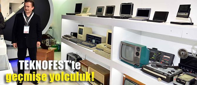 Yazıcı'nın koleksiyonunu TEKNOFEST'te sergiledi