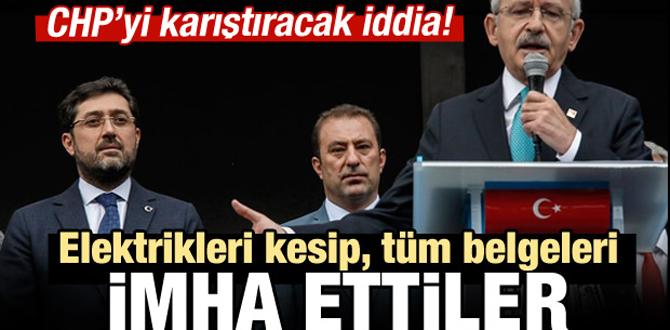 CHP'yi karıştıracak iddia!