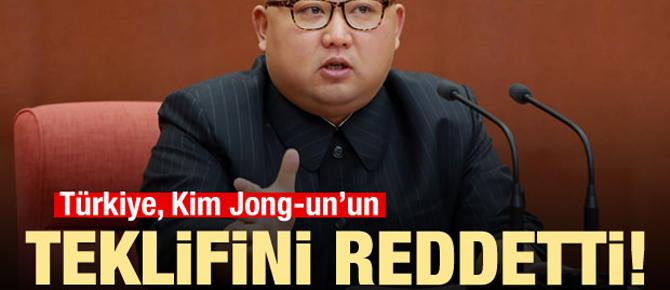 Türkiye, Kim Jong-un'un teklifini reddetti!