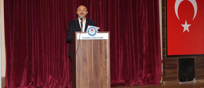 Eğitim Bir'de başkan Talat Yavuz