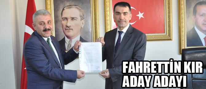 Fahrettin Kır Belediye Başkan Aday Adayı