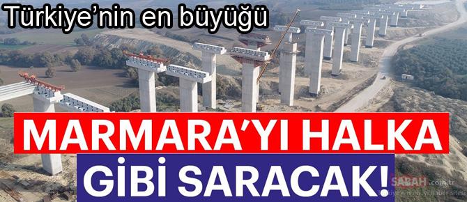 Türkiye Cumhuriyetinin en büyük otoyol yatırımı!  Açılış tarihi belli oldu