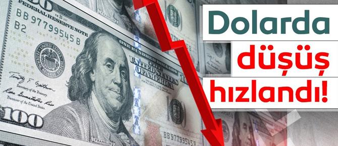 Dolar'da düşüş hızlandı!