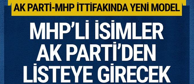 MHP'li isimler AK Parti listesinden...