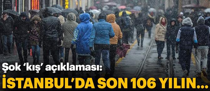 """Rekora doğru... """"İstanbul'da son 106 yılın .."""