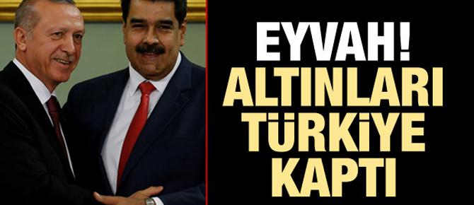 BBC: Eyvah! Altınları Türkiye kaptı