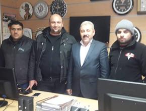 Fahrettin Kır sanayi sitesi esnafıyla buluştu