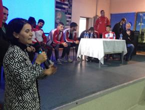 Ampüte Futbol Takımı Pendik Lisesi öğrencileriyle buluştu