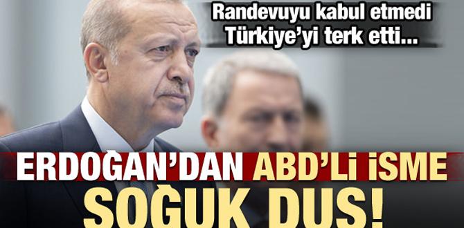 Erdoğan randevu vermedi Türkiye'den ayrılıyor!