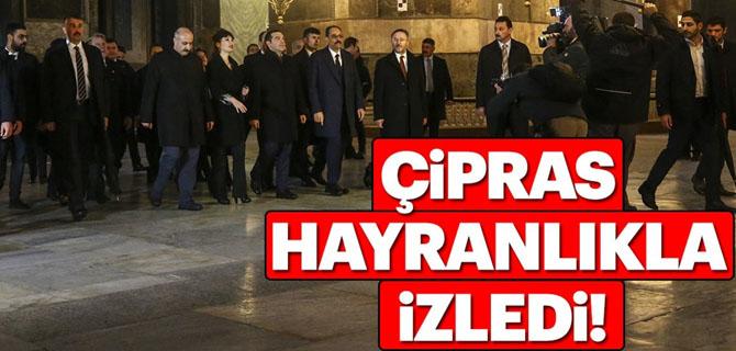 Yunan Başbakanı hayran bıraktı!
