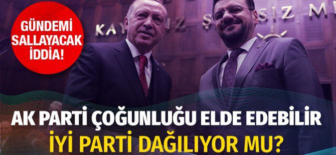 AK Parti tek başına Meclis çoğunluğunu elde edebilir!