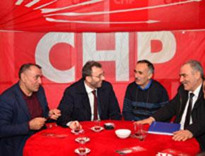 Ahmet Cin CHP Seçim bürosunu ziyaret etti!