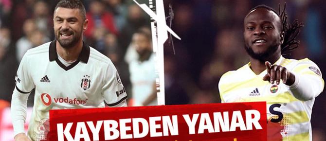 İşte Beşiktaş Fenerbahçe maçı muhtemel 11'leri