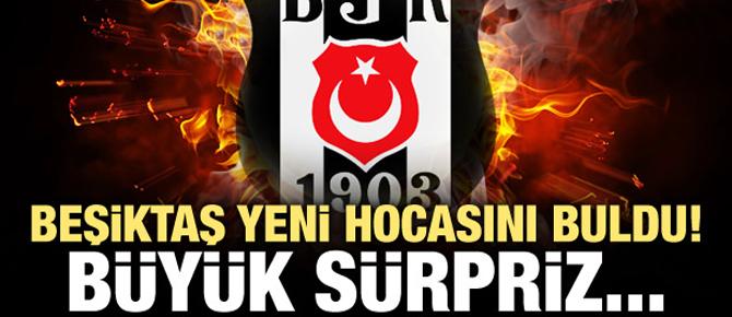 Beşiktaş teknik direktörünü buldu!