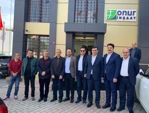 AK Parti Milletvekili'nden Murat Çevik'e ziyaret