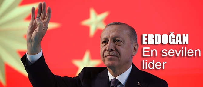 En sevilen dünya lideri; Erdoğan