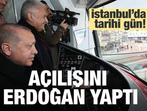 Pendik ve Tuzla için tarihi gün! Erdoğan açılışını yaptı