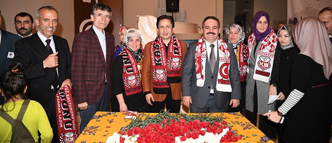Kastamonulular'dan Şadi Yazıcı'ya tam destek!