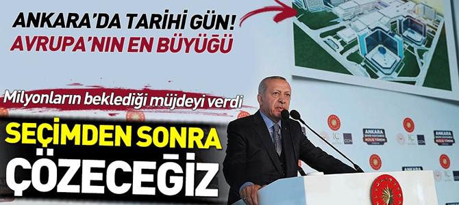 Başkan Erdoğan'dan 3600 ek gösterge müjdesi