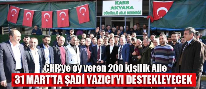 Tuzla'da 200 kişilik CHP'li grup Şadi Yazıcı'yı destekleyecek