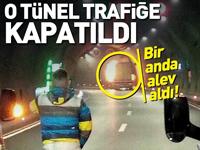 Dikkat! O tünel trafiğe kapatıldı..