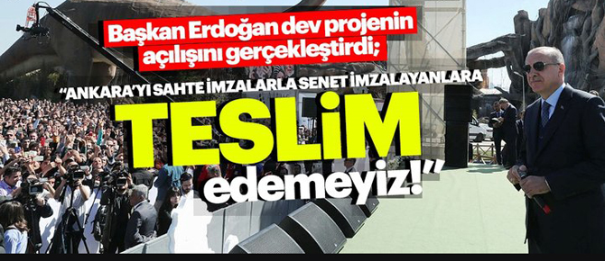 Ankara'yı sahte imzayla senet imzalatanlara teslim edemeyiz!