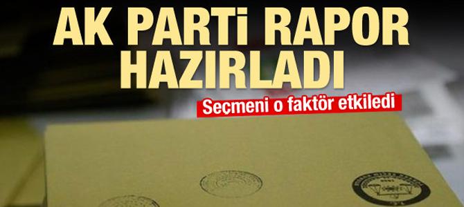 AK Parti rapor hazırladı: Seçmeni  ne etkiledi?