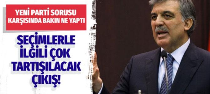 Abdullah Gül, seçimler ile ilgili ilk kez konuştu ve uyardı!